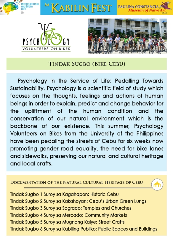 Workshop Facilitator/s 12 - Psychology Volunteers on Bikes