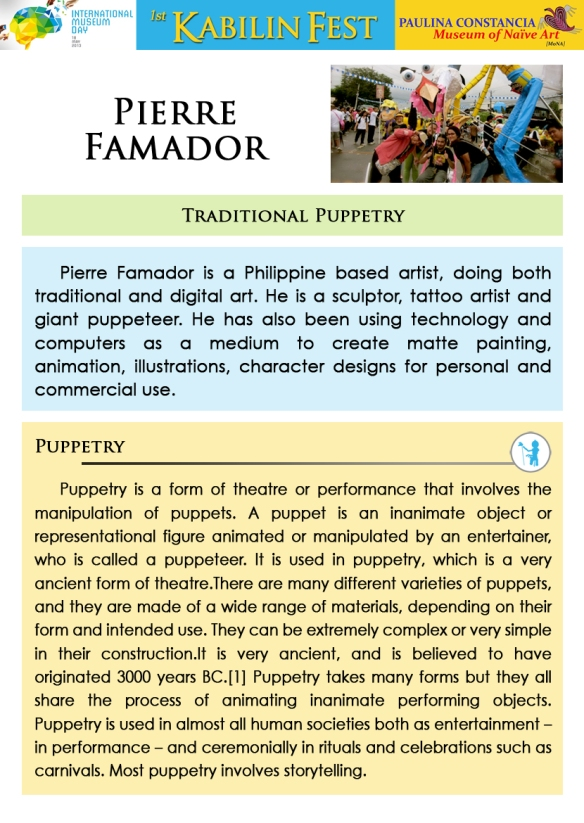 Workshop Facilitator  2 - Pierre Famador
