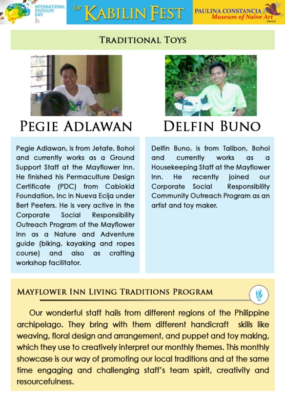Workshop Facilitator/s 9 - Pegie & Delfin