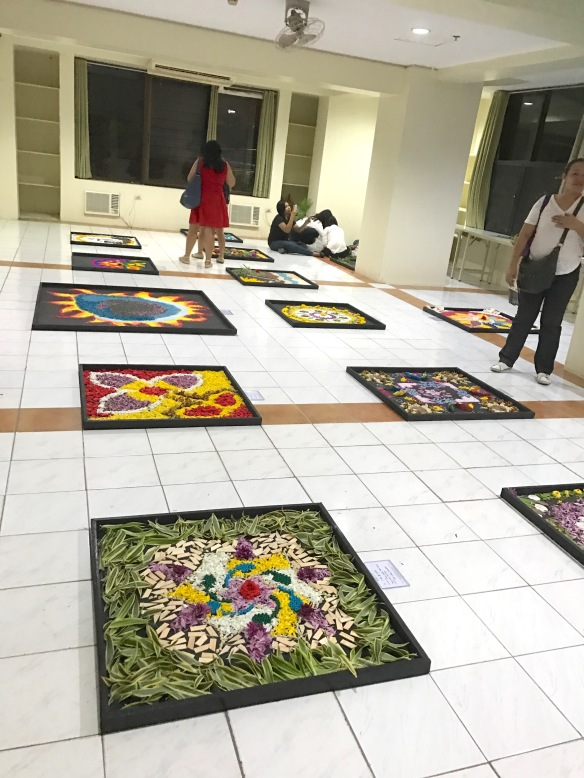 8-Rangoli Workshop display