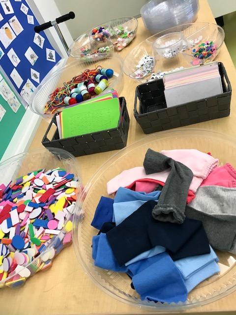 Craft Supplies Buffet