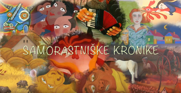 Slovenian Film about International Meeting of Naive Artists